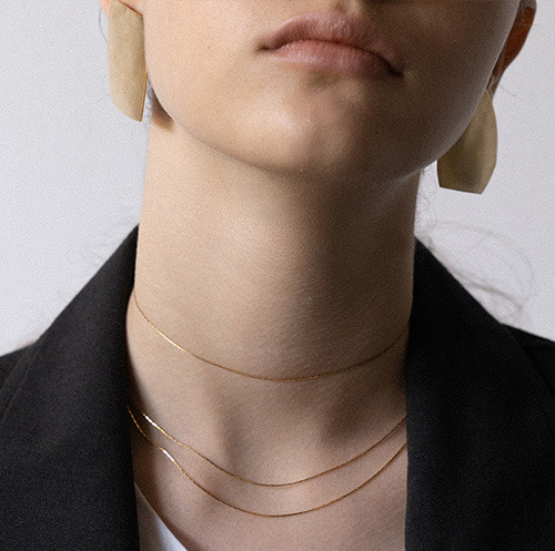 'Silence' 12 necklace